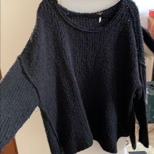 Free People teddy bear sweater